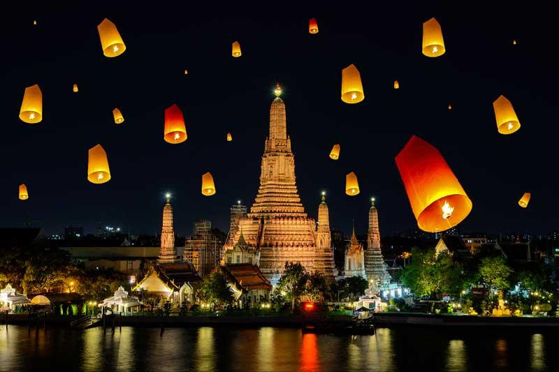 Thailand Visa Loy Krathong Festival