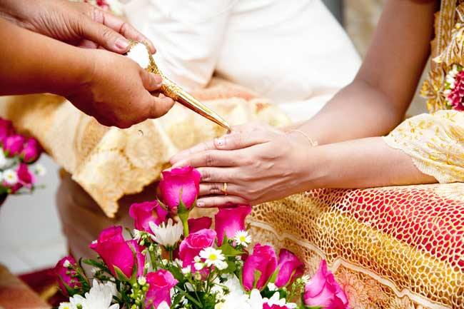 Thailand Visa Wedding Ceremony