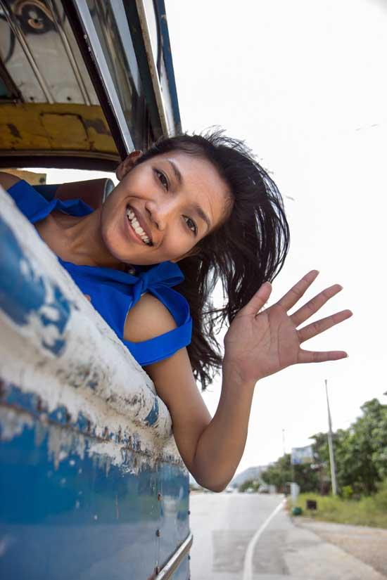 Thailand Visa Transportation Bus