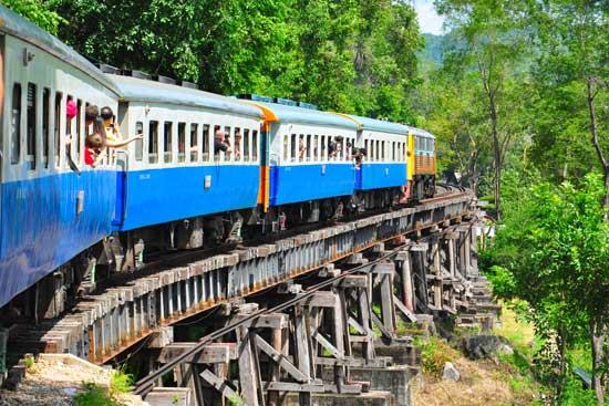 Thailand Visa Transportation Train 1
