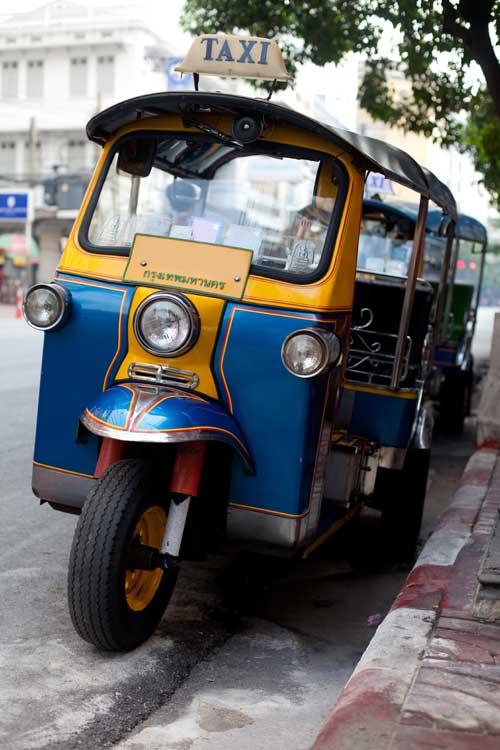 Thailand Visa TukTuk