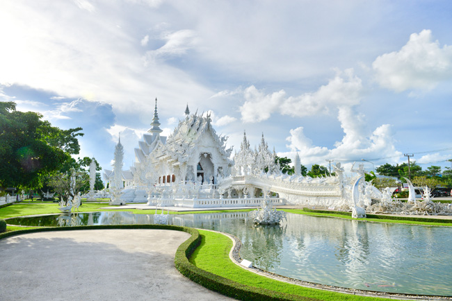 Thailand Visa White Temple in Chiang Rai